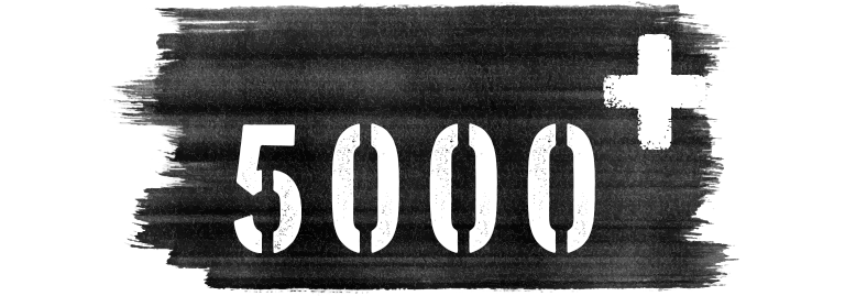 5000 abgewickelte Tattoo-Projekte
