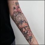 Blumen Flower Mandala Tattoo
