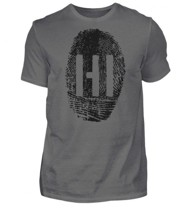 Black Fingerprint - Herren Premiumshirt-627