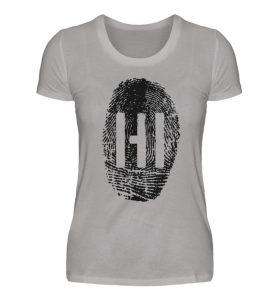 Black Fingerprint - Damen Premiumshirt-2998