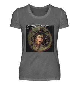 Portrait Collection by Marksoffink - No4 - Damen Premiumshirt-627