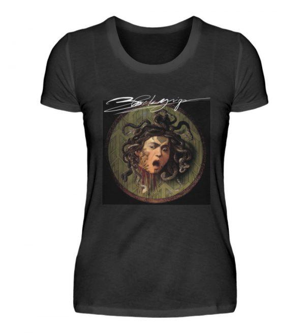 Portrait Collection by Marksoffink - No4 - Damen Premiumshirt-16