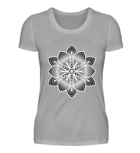 Mandala Collection by Woxtattoo - Black - Damen Premiumshirt-2998