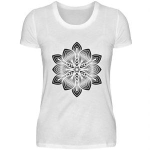 Mandala Collection by Woxtattoo - Black - Damen Premiumshirt-3