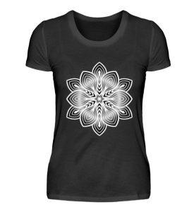 Mandala Collection by Woxtattoo - Black - Damen Premiumshirt-16