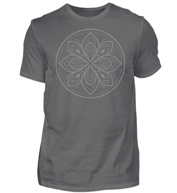 Mandala Collection by Woxtattoo - Gray - Herren Premiumshirt-627