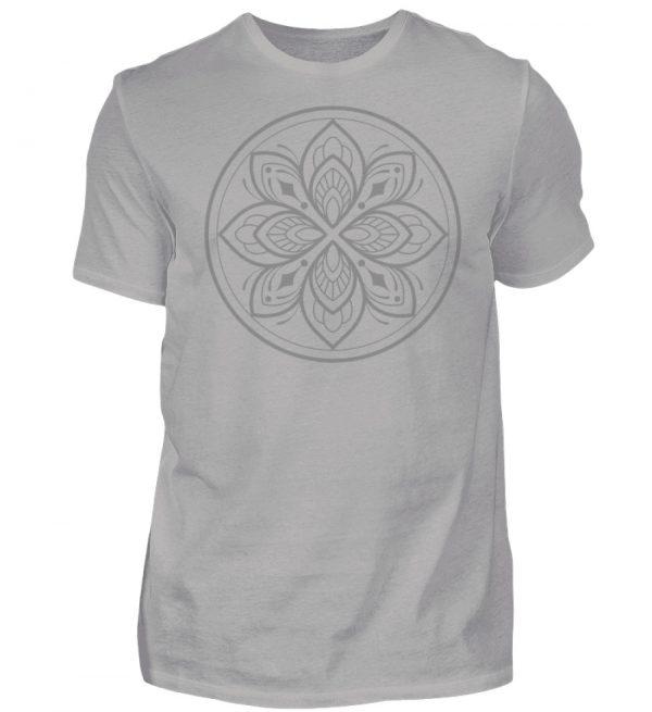 Mandala Collection by Woxtattoo - Gray - Herren Premiumshirt-2998