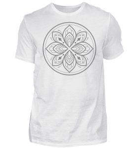 Mandala Collection by Woxtattoo - Gray - Herren Premiumshirt-3