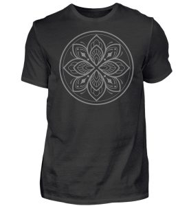 Mandala Collection by Woxtattoo - Gray - Herren Premiumshirt-16