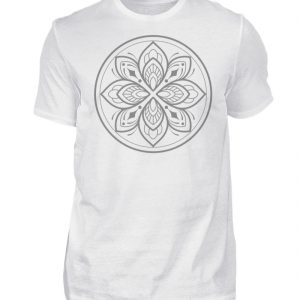 Mandala Collection by Woxtattoo - Gray - Herren Premiumshirt-3