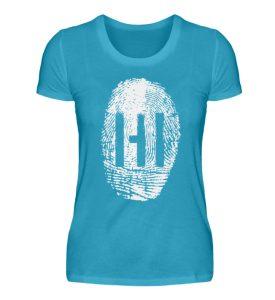 White Fingerprint - Damen Premiumshirt-3175