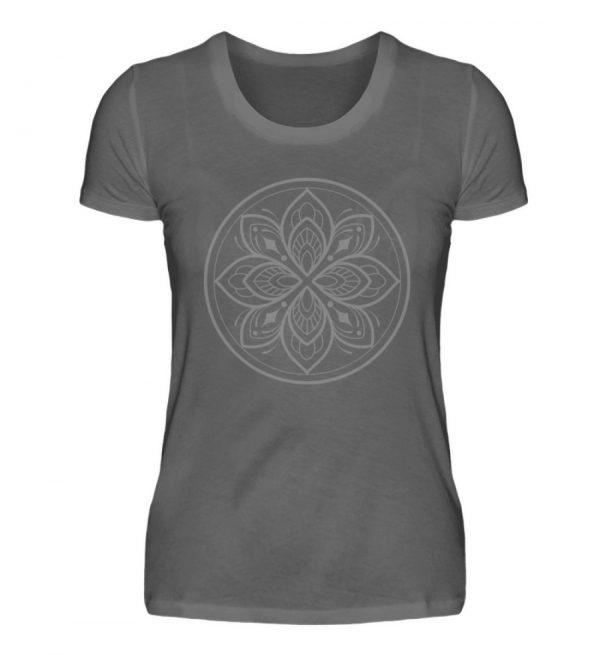 Mandala Collection by Woxtattoo - Gray - Damen Premiumshirt-627