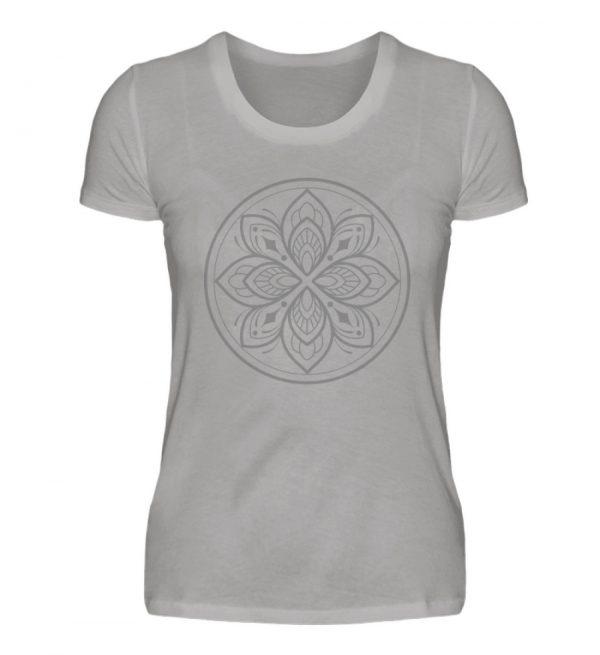 Mandala Collection by Woxtattoo - Gray - Damen Premiumshirt-2998