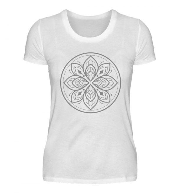 Mandala Collection by Woxtattoo - Gray - Damen Premiumshirt-3