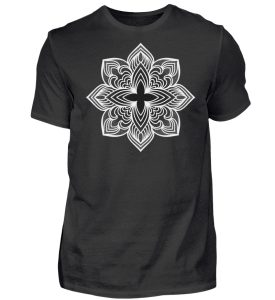 Mandala Collection by Woxtattoo - Dots - Herren Premiumshirt-16