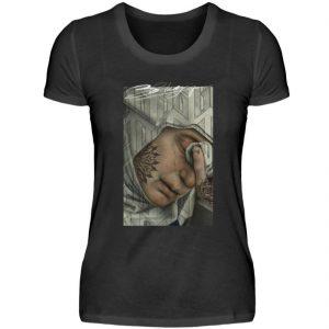Portrait Collection by Marksoffink - No2 - Damen Premiumshirt-16