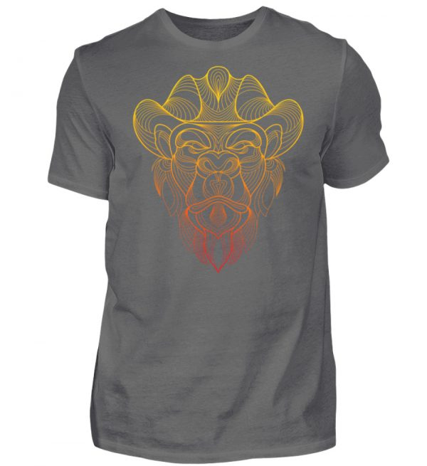 Fineline Artwork Yellow and Red - Herren Premiumshirt-627