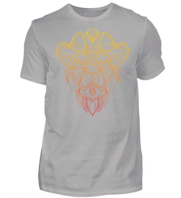 Fineline Artwork Yellow and Red - Herren Premiumshirt-2998