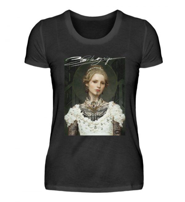 Portrait Collection by Marksoffink - No3 - Damen Premiumshirt-16