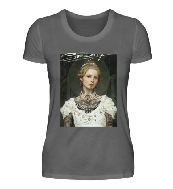 Portrait Collection by Marksoffink - No3 - Damen Premiumshirt-627