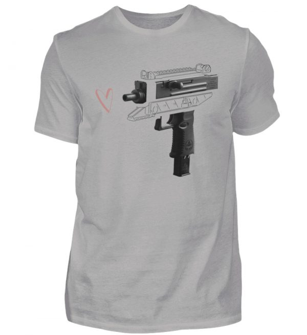 Uzi Artwork by Matrule - Herren Premiumshirt-2998