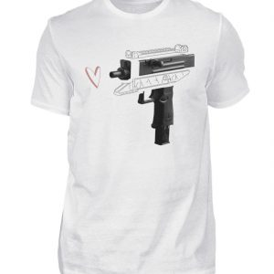 Uzi Artwork by Matrule - Herren Premiumshirt-3