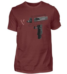 Uzi Artwork by Matrule - Herren Premiumshirt-3192