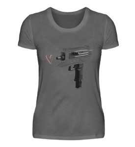 Uzi Artwork by Matrule - Damen Premiumshirt-627