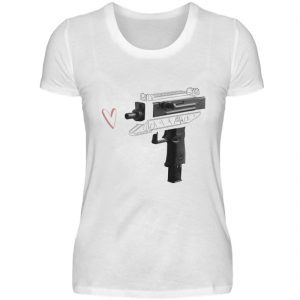Uzi Artwork by Matrule - Damen Premiumshirt-3
