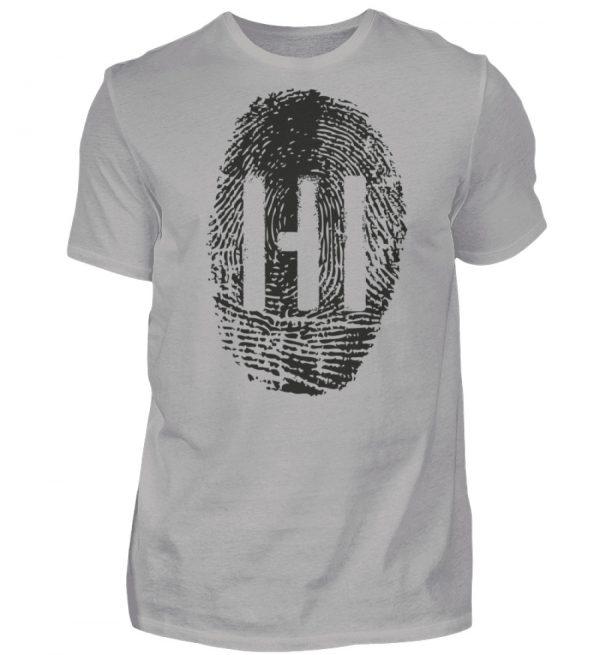 BLACK FINGERPRINT - Herren Premiumshirt-2998