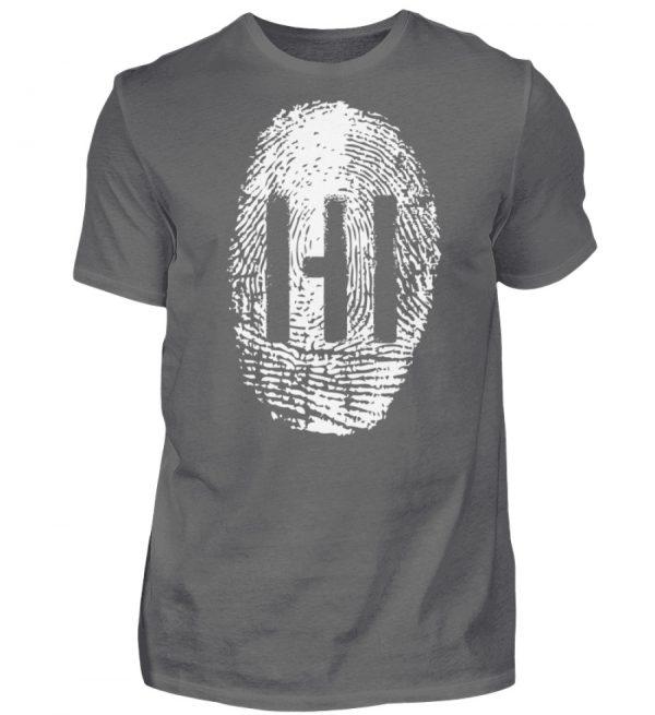 WHITE FINGERPRINT - Herren Premiumshirt-627