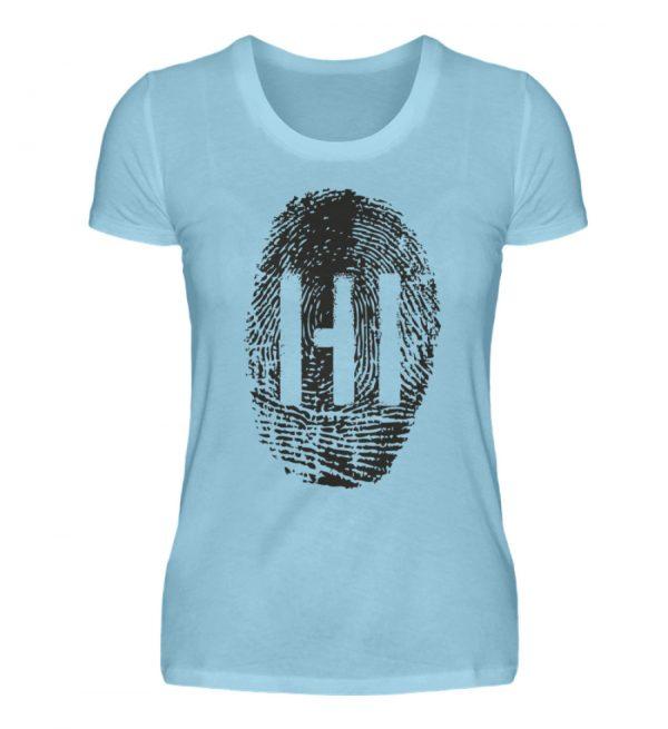 BLACK FINGERPRINT - Damen Premiumshirt-674