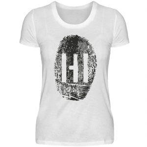 BLACK FINGERPRINT - Damen Premiumshirt-3
