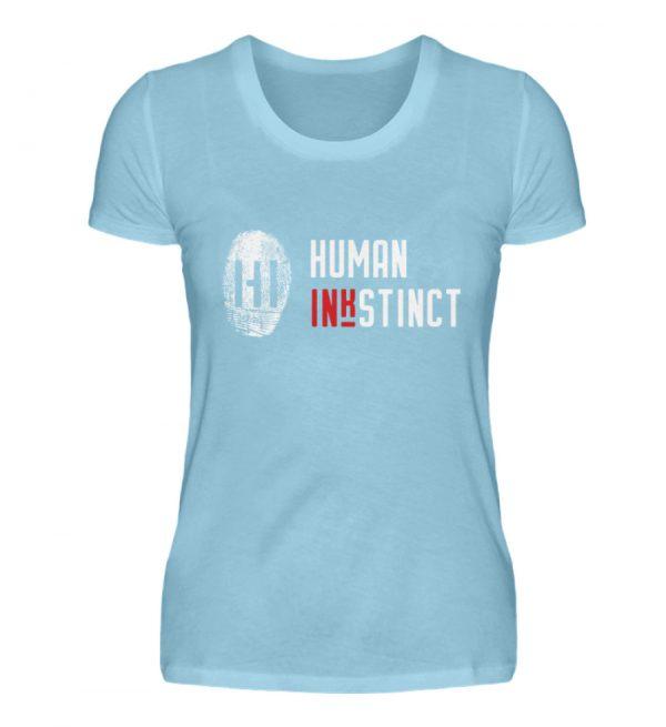 WHITE LOGO - Damen Premiumshirt-674