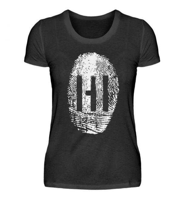 WHITE FINGERPRINT - Damen Premiumshirt-16